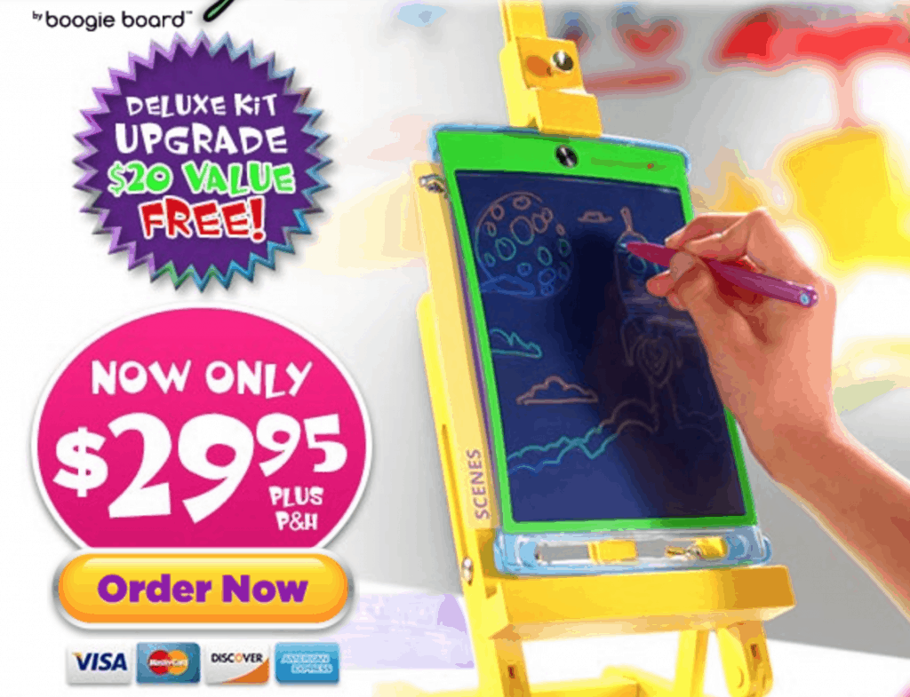 Magic Sketch by Boogie Board - #EBHolidayGiftGuide