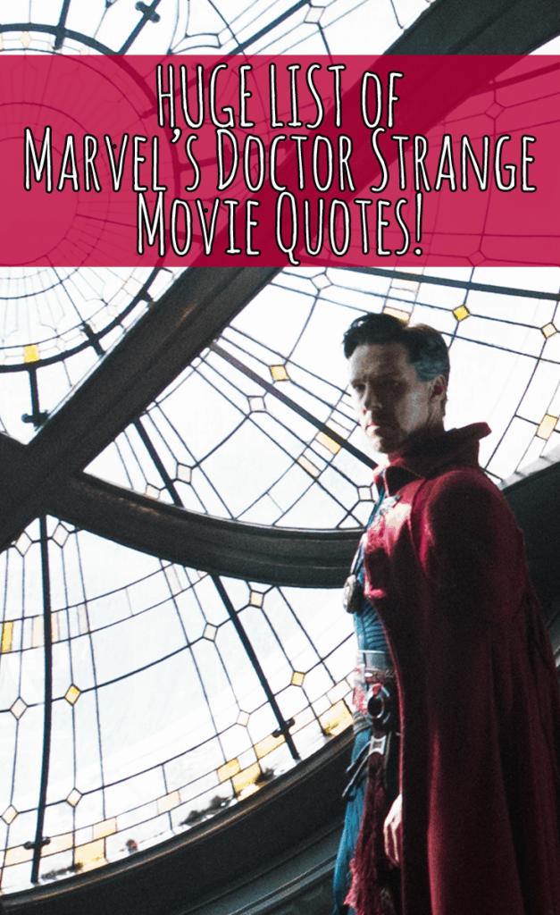 Doctor Strange Movie Quotes