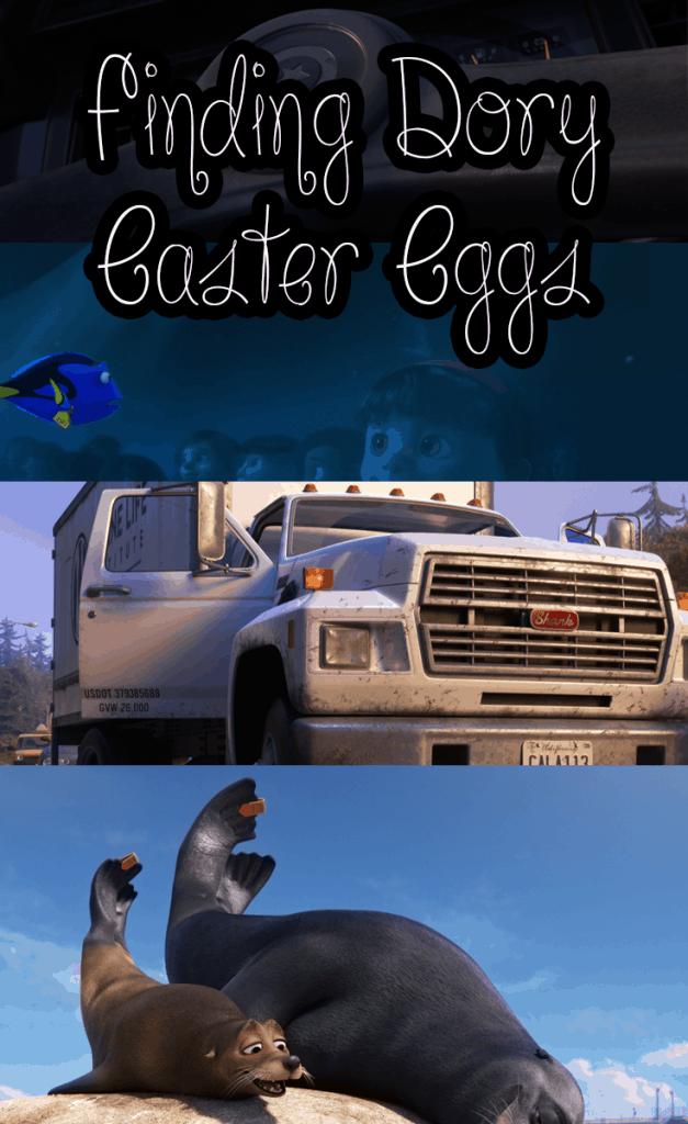 Finding Dory Easter Eggs