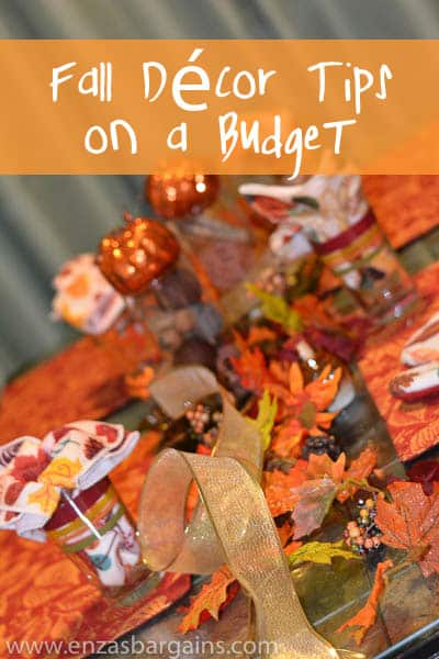 Fall Décor Tips on a Budget & Shopping at Family Dollar
