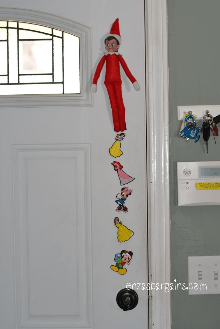 Easy and Quick Elf on the Shelf Ideas! - Enza's Bargains