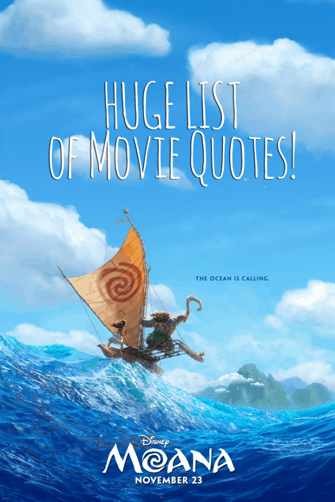 Moana Movie Quotes