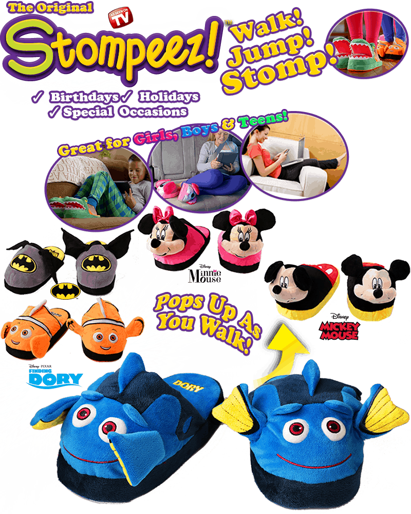 Stompeez NEW Characters!- #EBHolidayGiftGuide