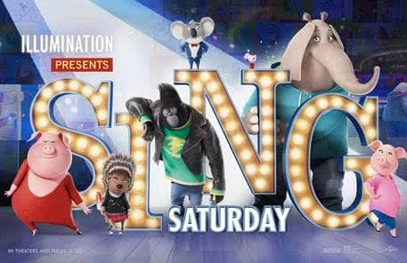 SING Advanced Movie Screening for AMC - Sing Saturday