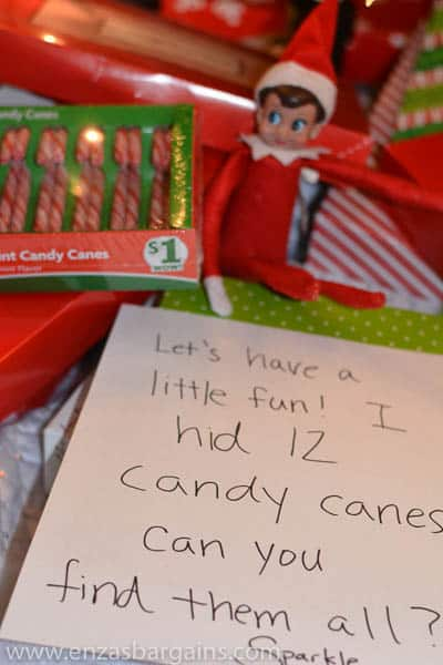 Elf on the Shelf Family Dollar Ideas