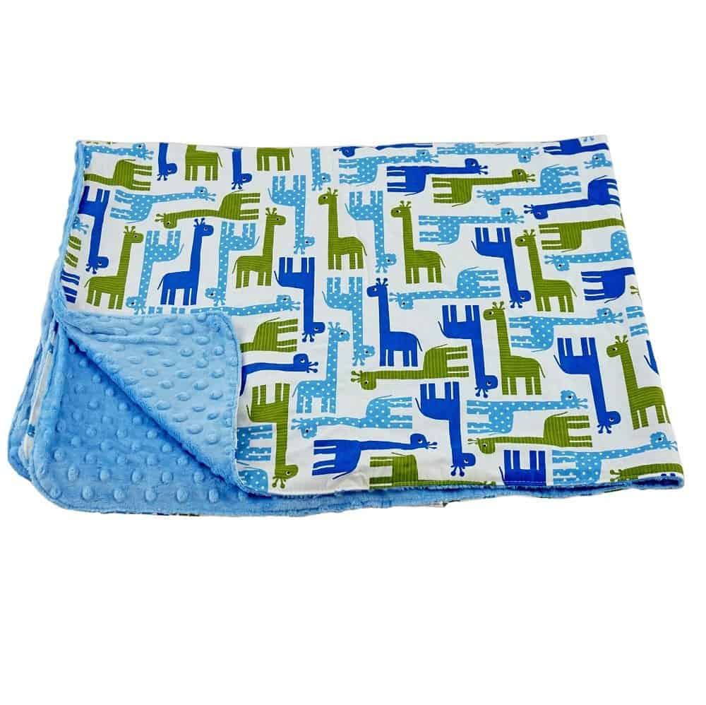 Blue Baby Bum Blanket - #EBHolidayGiftGuide