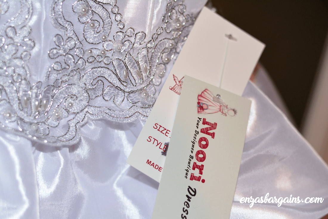 Noori First Communion Dresses Review - Our First Dress Rehearsal