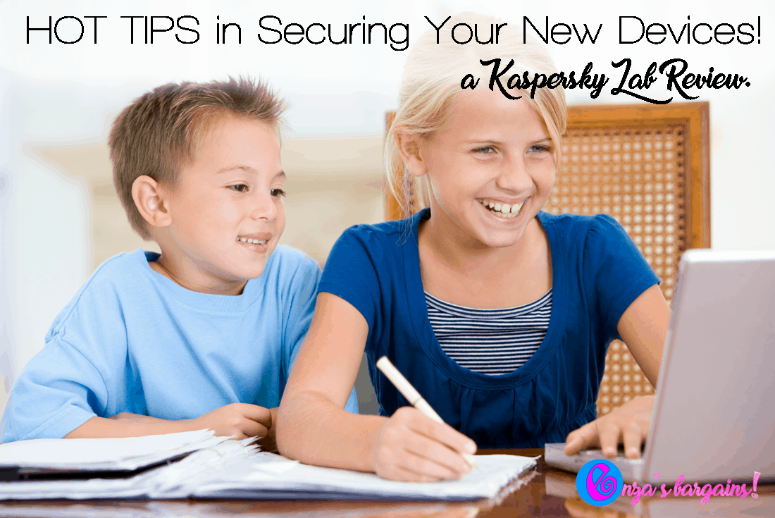Kaspersky Lab Review - Securing Your New Devices - Safe Surfing brought to you by Kaspersky Lab!