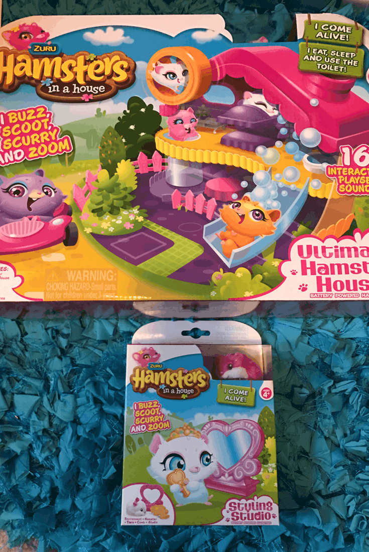 Hamsters in a House Accessories and Toy - #EBHolidayGiftGuide