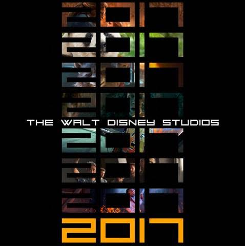 2017 Disney Movies List