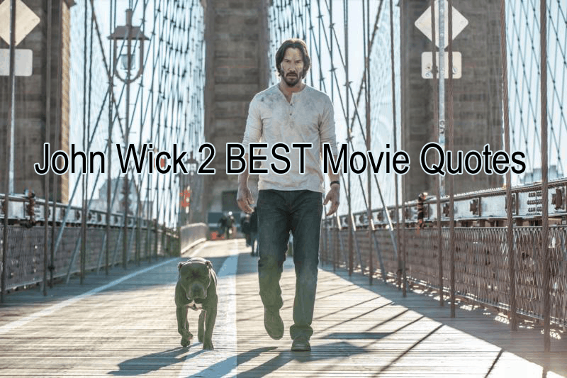 John Wick 2 Movie Quotes