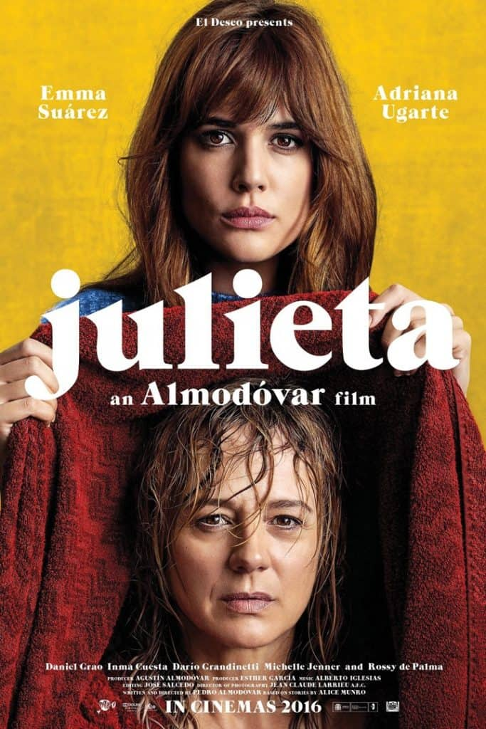Julieta Movie Review - From a mom!