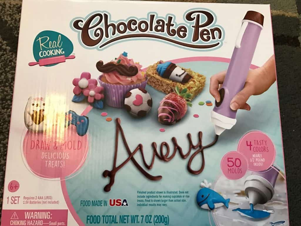 Real Cooking Chocolate Pen 2.0 - #EBVdayGiftGuide