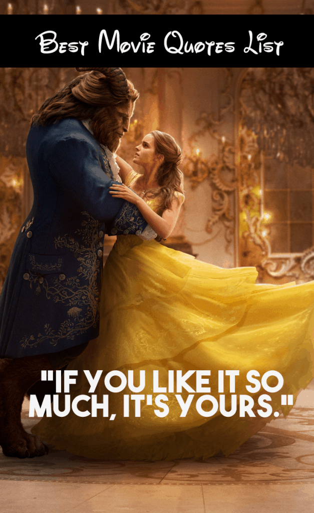 Beauty And The Beast Movie Quotes Our List Of Favorite Lines