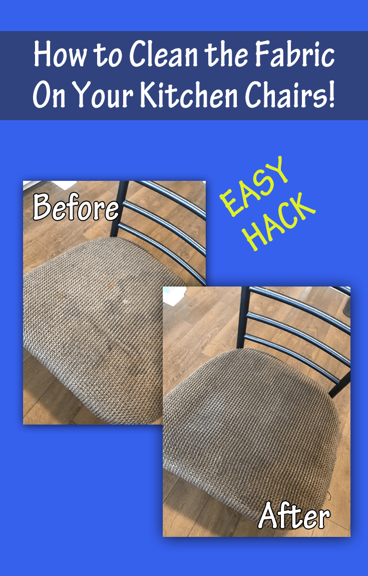 How To Clean Fabric On Kitchen Chairs With Johnson's Baby
