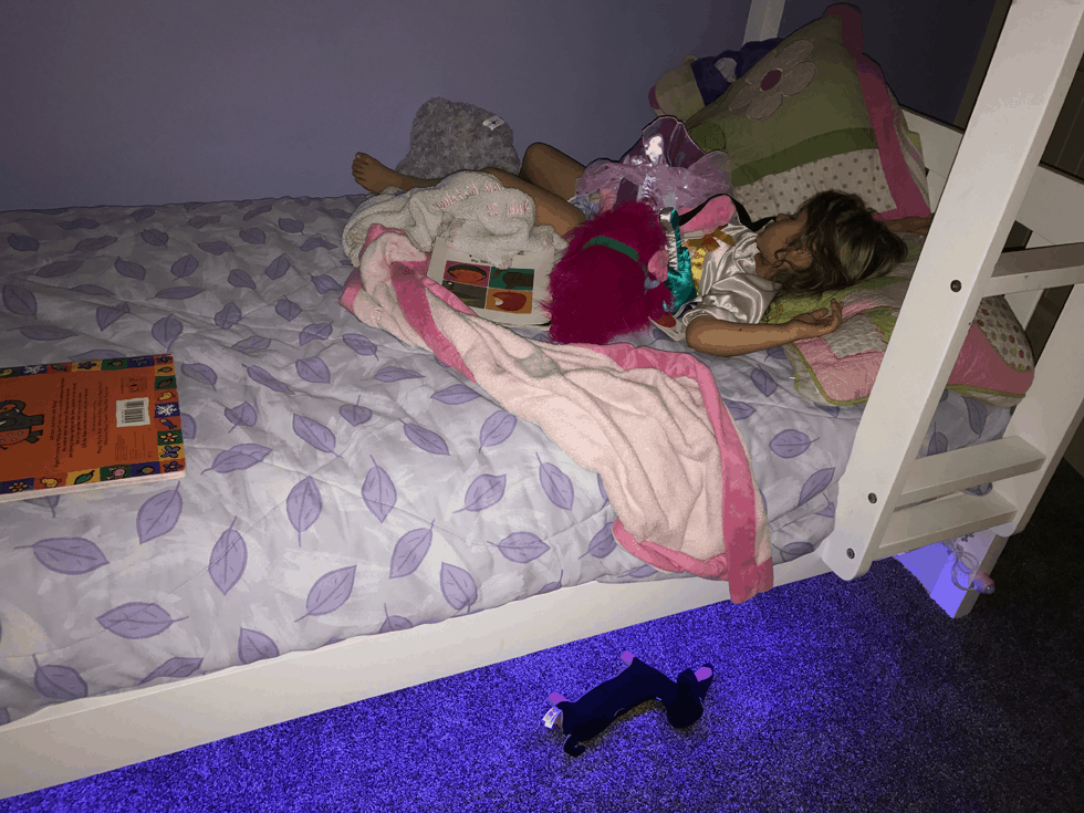 Forpow Bed Light Strip Light Kit Review