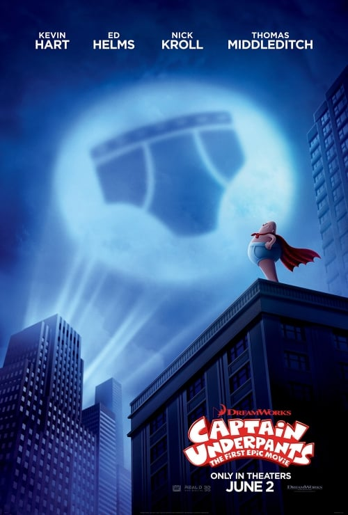 Captain Underpants: The First Epic Movie Kansas City Advanced Screening