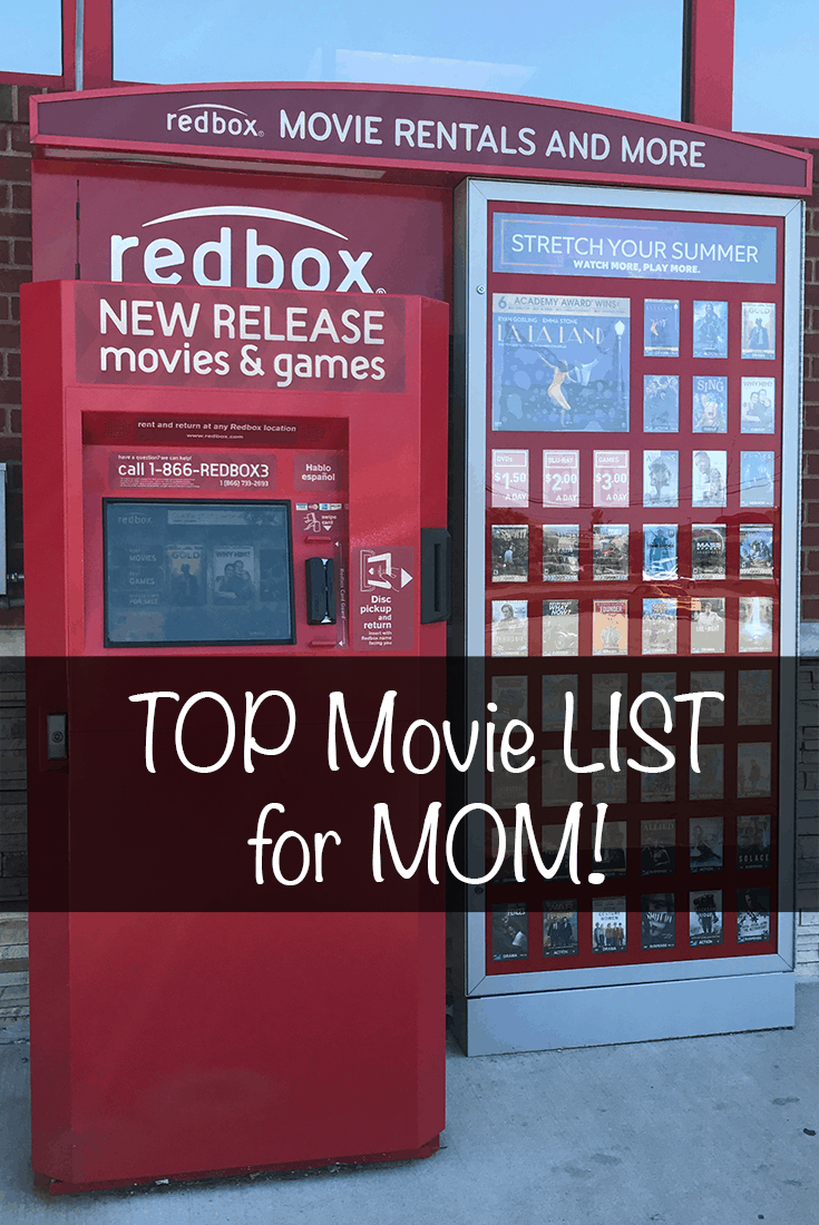 Redbox TOP Mother's Day Movies List
