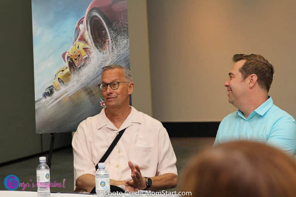 CARS 3 Interview With Director Brian Fee & Producer Kevin Reher
