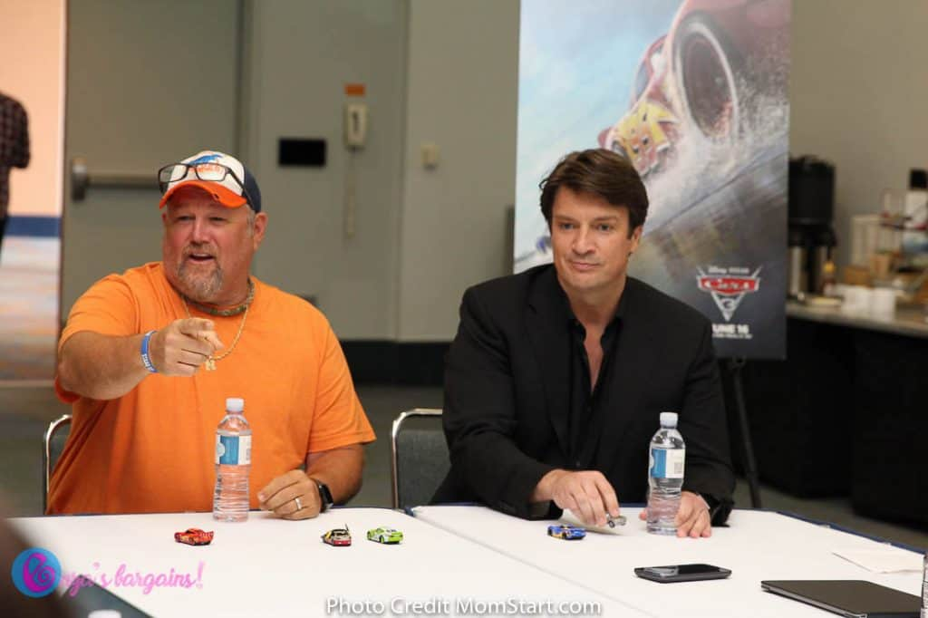 Cars 3 Interview With Nathan Fillion, Larry the Cable Guy, Lea DeLaria, & Isiah Whitlock Jr.