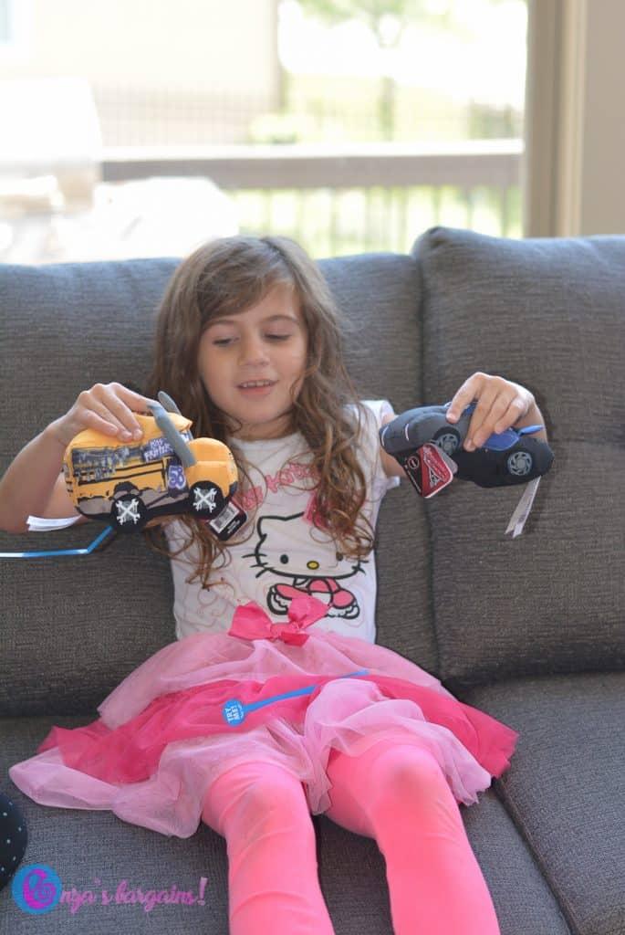 Cars 3 Crash 'Ems Plush Toys