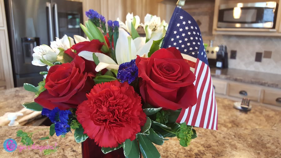 4th of July Bouquets by Teleflora