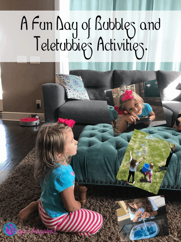 Teletubbies Crafts and Activities & Giveaway!