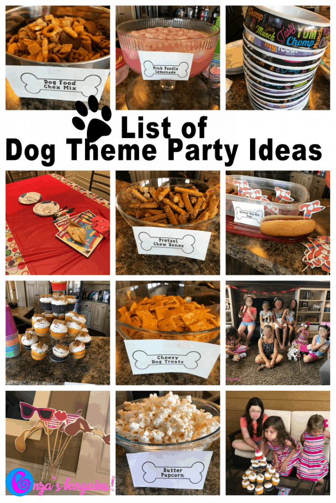 dog themed party food and party ideas enzasbargains com