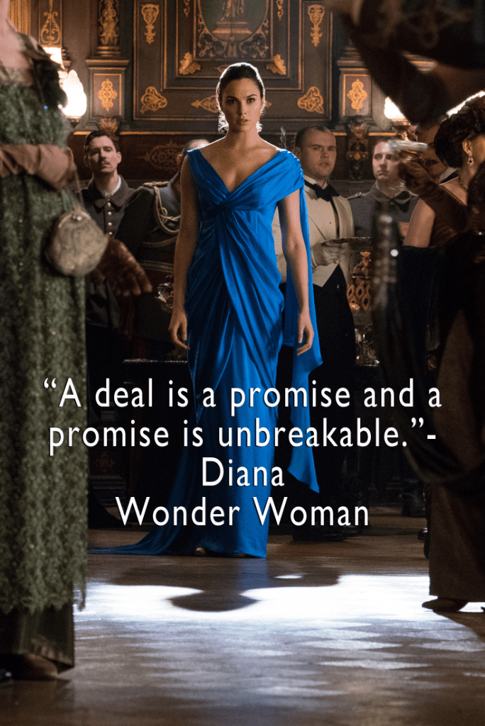 Wonder Woman Quotes 2017 - A list of top top quotes from the movie!