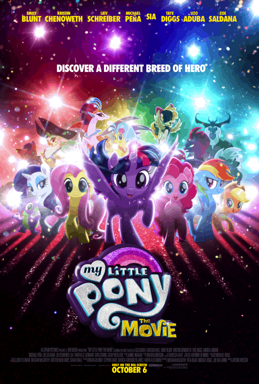 My Little Pony Movie Red Carpet