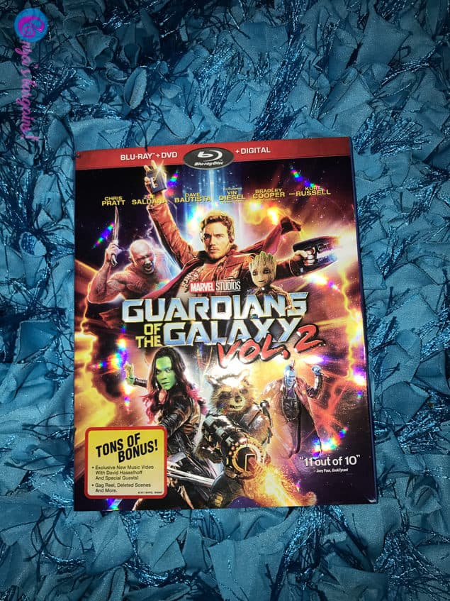 Guardians of the Galaxy Vol. 2 DVD/Blu-ray Release and GAG Reel Video!