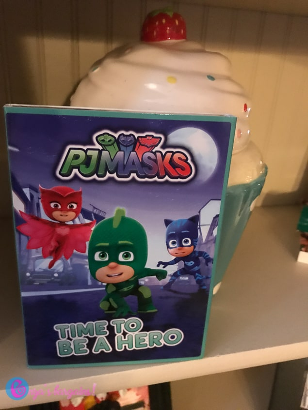 PJ Masks: Time To Be A Hero DVD