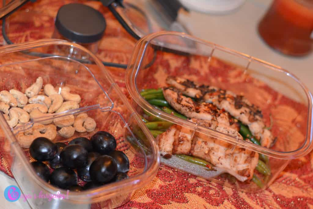 Rubbermaid BRILLIANCE Salad and Snack Set Review With My Whole30