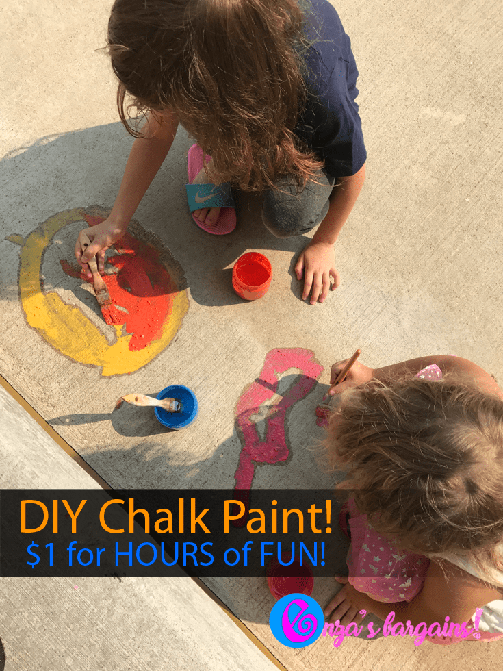 DIY Chalk Paint for Kids!