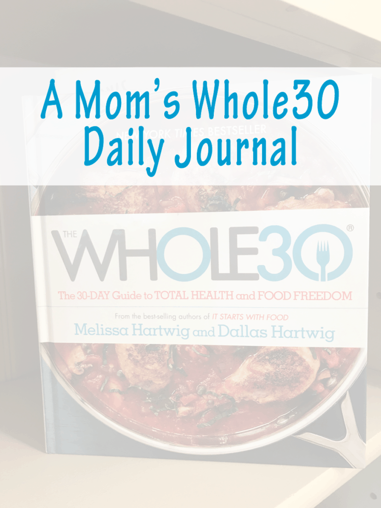 Whole30 Daily Journal