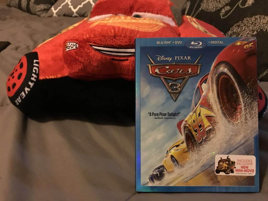 Pixar's Cars 3 DVD Release Date is November 7th