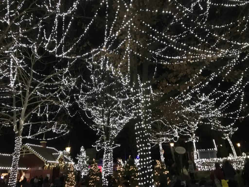 Holiday Lights and Activities in Kansas City at Worlds of Fun