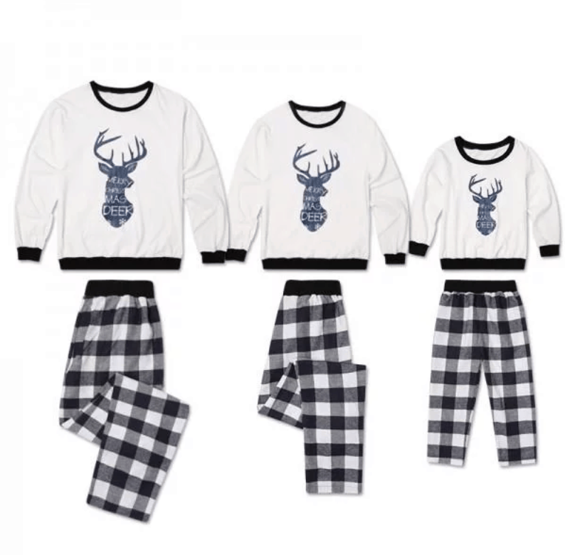 Christmas Family Deer Matching Pajamas & Other great styles!