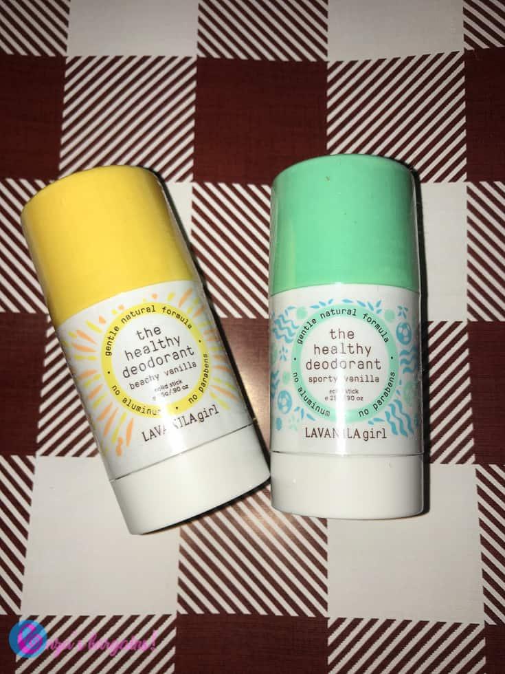 Lavanila Healthy Deodorant Girl Mini Duo Set Stocking Stuffer - #EBHolidayGiftGuide