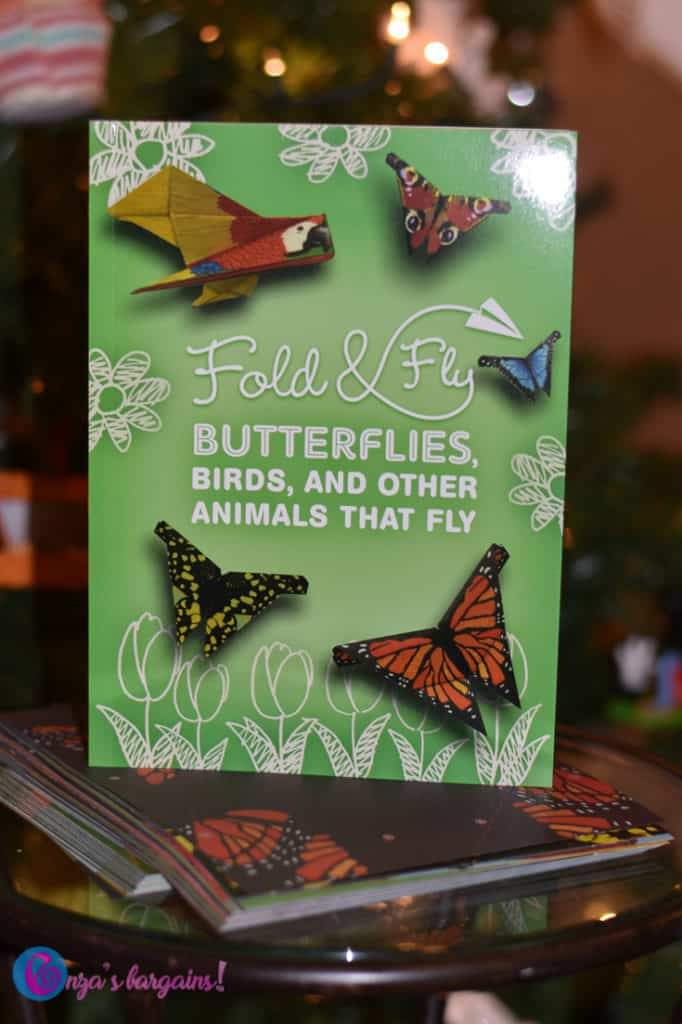 Fold & Fly Butterflies, Birds, and Other Animals that Fly  - #EBHolidayGiftGuide