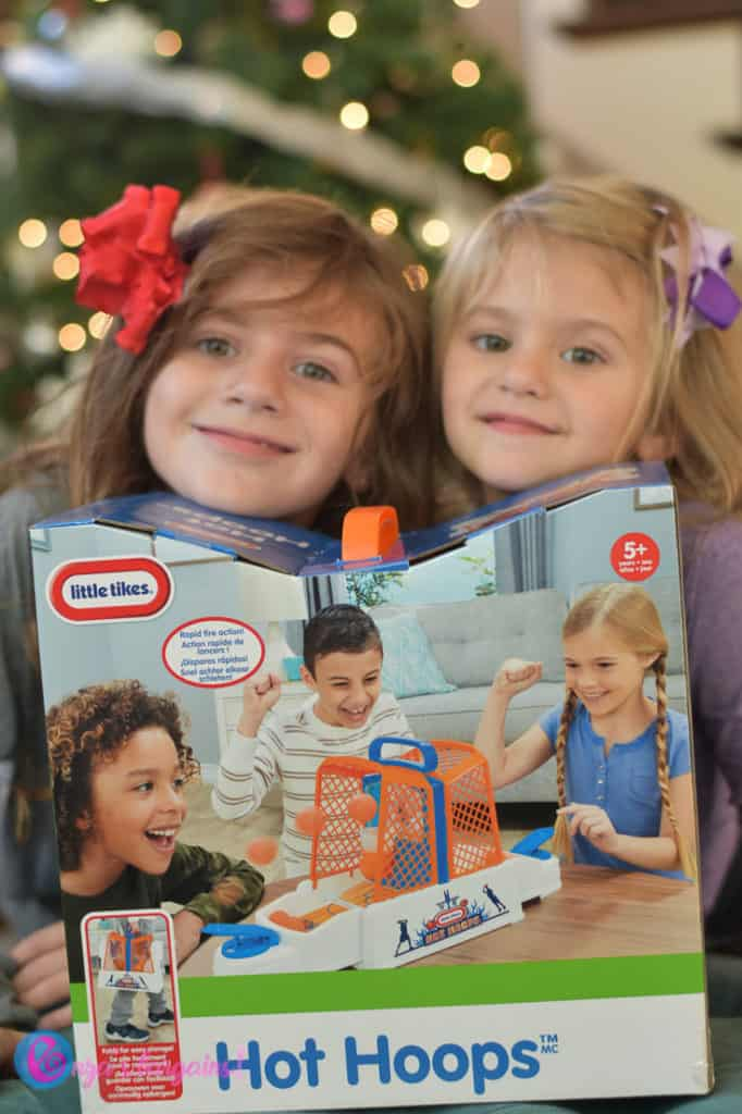 Family Game Night for Preschoolers - #EBHolidayGiftGuide