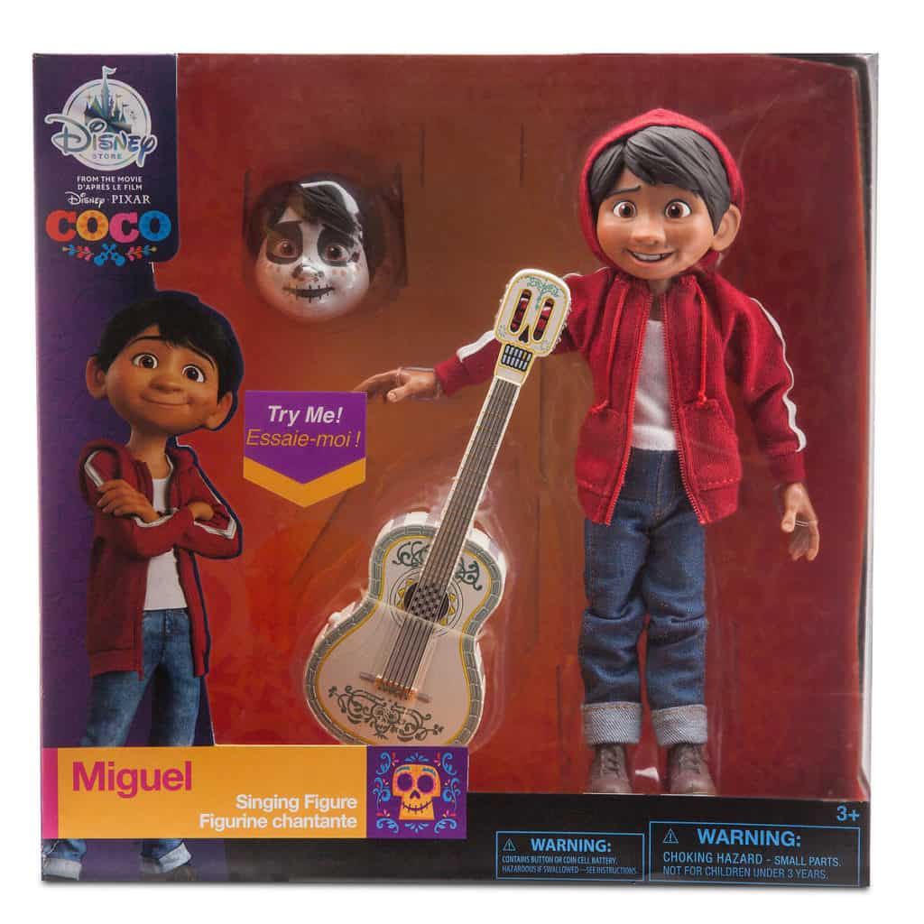 Miguel Singing Figure