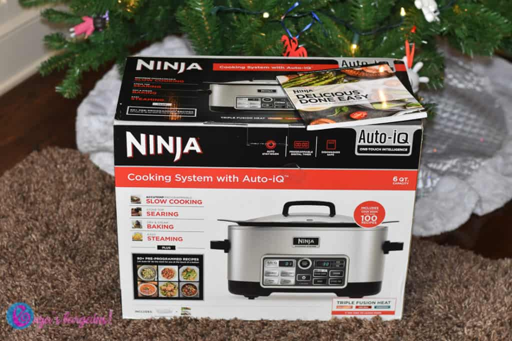 Ninja Cooking System Review - #EBHolidayGiftGuide
