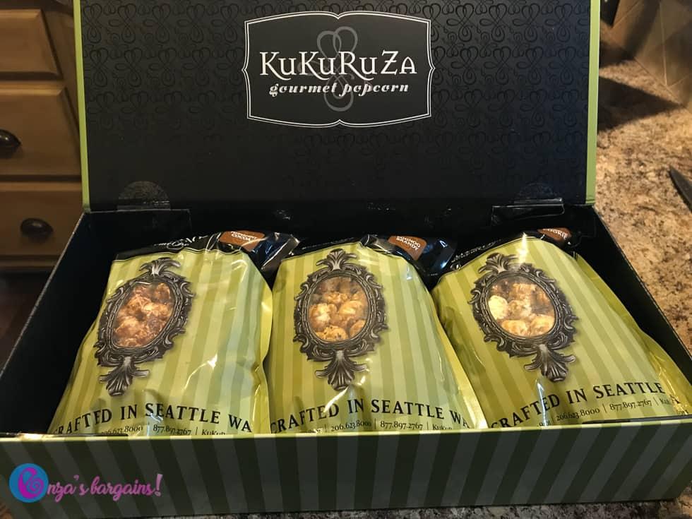 KuKuRuZa Gourmet Popcorn - #EBHolidayGiftGuide