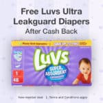 FREE LUVS Diapers