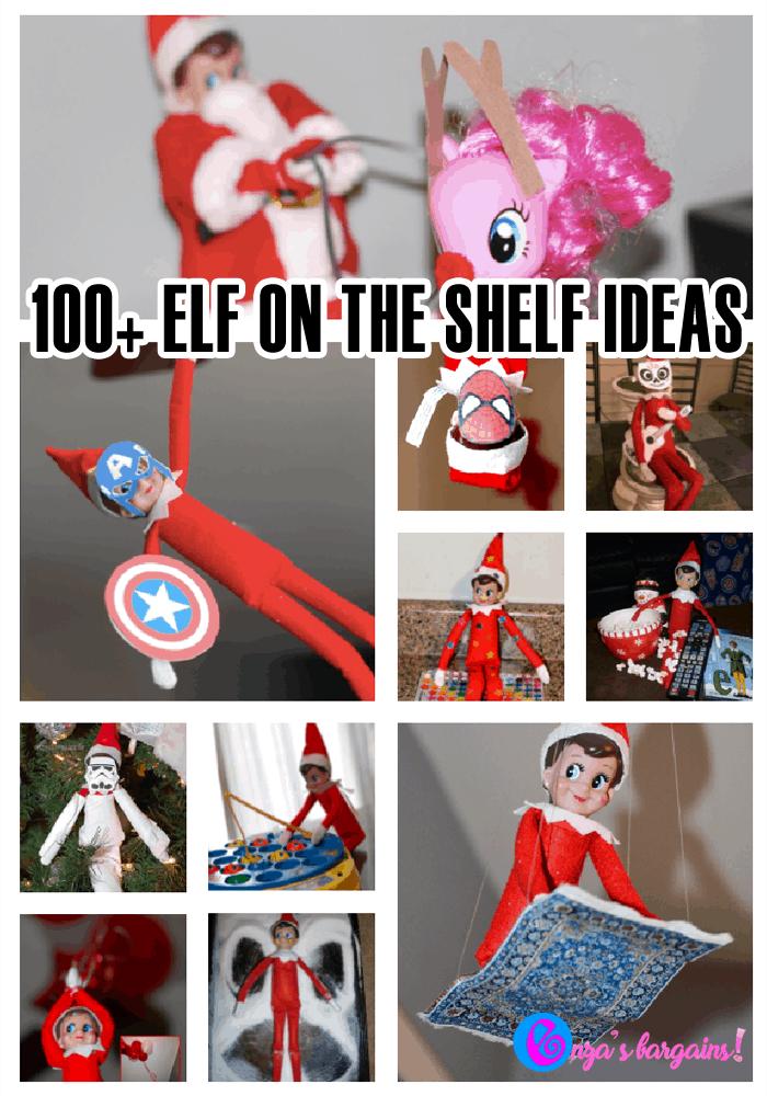 Elf on the Shelf Ideas - OVER 100 IDEAS!