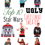 Top 10 Star Wars Ugly Christmas Sweaters 2017 - #EBHolidayGiftGuide