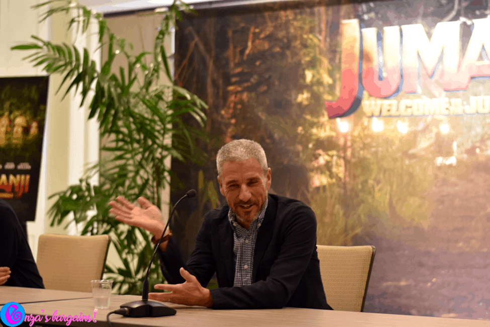 Interview with Jake Kasdan & Matt Tolmach for Jumanji: Welcome to the Jungle