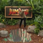 Interview with Dwayne Johnson, Jack Black, Nick Jonas, and Karen Gillan for Jumanji