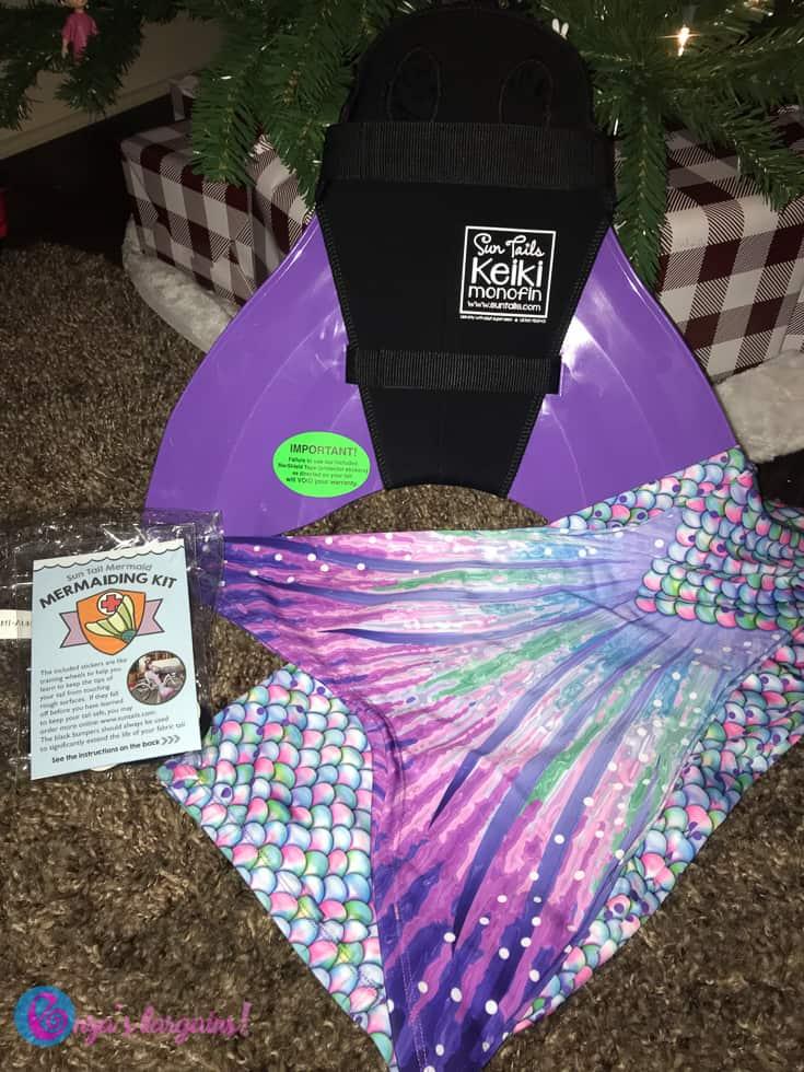 Swimmable Mermaid Tails- #EBHolidayGiftGuide- #EBHolidayGiftGuide